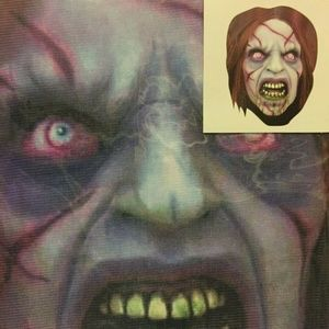 Spandex Full Face Zentai Mask Halloween Zombie